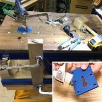[lotmoigoods] Router Plate Meja Aluminium dengan 6 Sekrup untuk Kayu