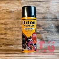 9184 Black Doff Hitam Dop Diton Premium Cat Pylox Pilox Semprot 400 cc