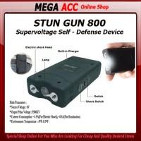 Senjata Kejut Listrik Alat Setrum Stungun Stun Gun Senter Led Darura