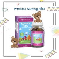 Wellness Gummy Kids isi 70 Bears - Vitamin A C D E Multivitamin Anak