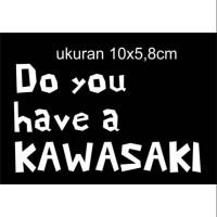 sticker cutting motor mobil kawasaki jdm57