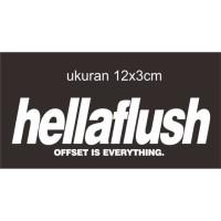 sticker cutting mobil motor hellaplush jdm64