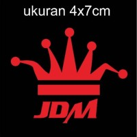 sticker cutting motor mobil jdm60