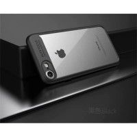 Fuze Auto Focus Hard Case iPhone 5 5s SE 6 6s 7 8 Plus X XR XS Max - Hitam, iPhone 5 5s SE