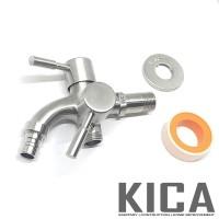 Keran Cabang / Kran Shower / Kran Cabang Air Stainless Steel GROSIR
