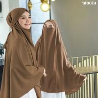 Jilbab Hijab Kerudung Bergo Instan French Khimar Cadar Madinah Syari