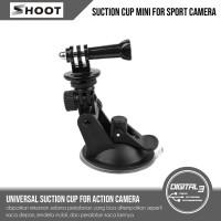 Suction Cup Mount GoPro Car Mounting Action Camera Mount Kaca Mobil
