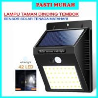 LAMPU TAMAN DINDING TEMBOK SENSOR SOLAR TENAGA MATAHARI SURYA OUTDOOR