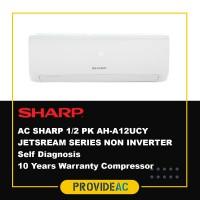 AC SPLIT SHARP 1.5 PK R32 JETSREAM SERIES NON INVERTER - AH-A12UCY