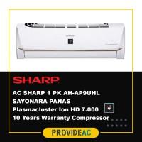 AC SPLIT SHARP 1 PK R32 SAYONARA PANAS NON INVERTER - AH-AP9UHL