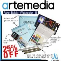 Paket Belajar Watercolor - B