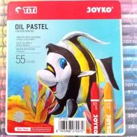 Crayon Titi Oil Pastel 55 Colours Krayon Minyak 55 Warna Grosir