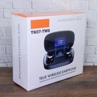 Headset Bluetooth TWS TK07 Sport Earphone Wireless