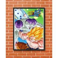 BANDAI Poster Dragon Ball Z KAI Frieza Saga