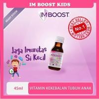 Terbaru Vitamin Kekebalan Tubuh Anak IM Boost Kids 45ml IMBoost