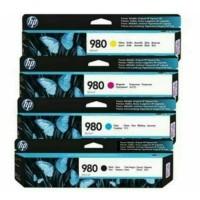 PAKETAN TINTA HP 980 BLACK DAN 980 COLOR (C.Y.M) ORIGINAL