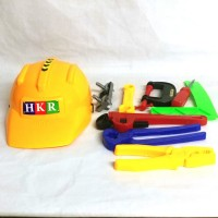 Mainan Alat Tukang Helm - Kids Tool Set