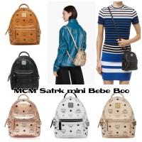 M C M Stark mini Bebe Boo Backpack