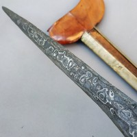 Keris Sempaner Pamor Udan Mas Tiban Asli Sepuh Kuno Pajajaran XII Kuno
