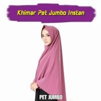 Promo Hijab Instant Khimar Pet Jumbo Jilbab Wolfis Antem
