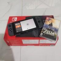 Nintendo switch V2 + Zelda breath of the wild