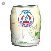 Bear Brand GOLD Susu Steril Teh Putih 140ml Satuan ISI 1 Pcs