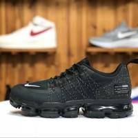 Sepatu Nike Air Vapormax Run Utility Premium Original / Black Hitam
