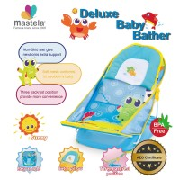 MASTELA Deluxe Baby Bather - WATERPARK - CROCODILE - LIGHTBLUE - 07165