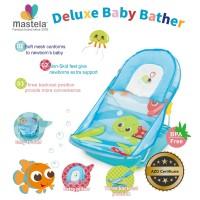 Mastela Deluxe Baby Bather - Blue Ocean - Turtle - Green - 07163