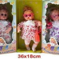 Boneka Susan nangis ketawa papa mama 638