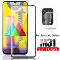 Tempered Glass Samsung M31 + Tg Anti Gores Lensa Camera