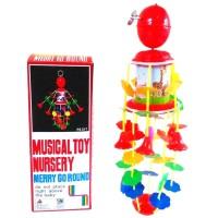 Mainan Music gantung bayi MERRY GO ROUND MUSICAL TOY NURSERY