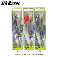 Umpan Pancing Minnow Pro Hunter Bluester 120mm 57gr
