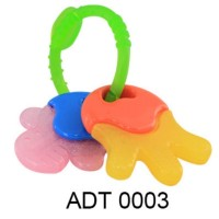 LUSTY BUNNY TEETHER CHEW TOY FRUITS ADT