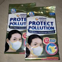 Unicharm Masker Kesehatan Pollution Protect 2s