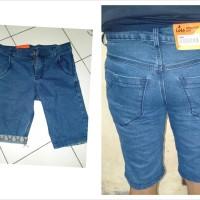 jeans pendek pria //celana pendek//jeans pendek - Biru, 27