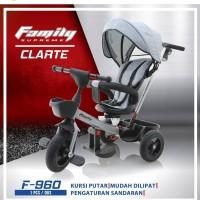 Sepeda Roda Tiga Anak Family EZ chair Stroller F960 Supreme family