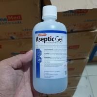 hand sanitizer aseptic ONEMED original 500ml antiseptic gel sanitiser