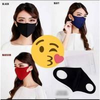 Masker Kain / Masker Kesehatan / Masker Polos / Masker Scuba / Masker