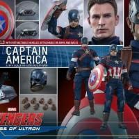 Hot Toys Captain America Age of Ultron (ORI) Figure 1/6 The Avengers