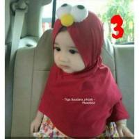 jilbab anak bayi elmo lucu karakter TERPERCAYA