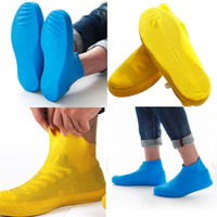 Jas Hujan Sarung Sepatu Anti Air Hujan Silicone Shoes Cover Waterproof