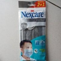masker carbon nexcare earloop