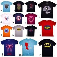 Kaos Anak Baju marvel Avangers DC transformers laki-laki cowo murah