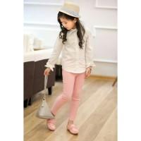 Celana Legging Anak Perempuan . Leging Polos . PMI-2053