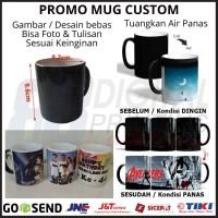 Promo Cetak Mug Custom - Mug Bunglon - Mug Magic PROMO BARU