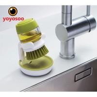 Brush Washing Up Liquid Soap Dispenser -yoyosoo