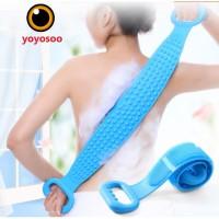 Handuk Gosok Punggung Bahan Silikon Untuk Mandi-yoyosoo