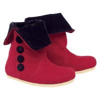AEMCAZU C27AS - Sepatu Bayi 1-3 Tahun - Boots Merah Anak Perempuan
