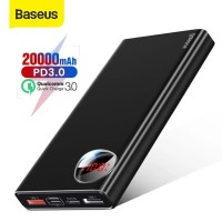 Baseus 20000mAh Power Bank USB PD 3.0 Fast Charging Quick Charge 3.0